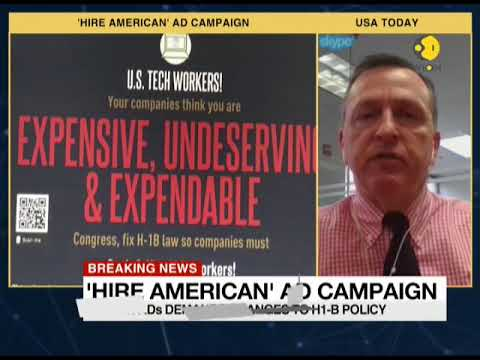 Attack advertisements against H1-B; Anti-H1B posters grace San Francisco train network