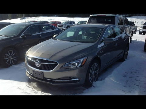 2017 Buick LaCrosse Preferred FWD Start Up, Full Tour and Review