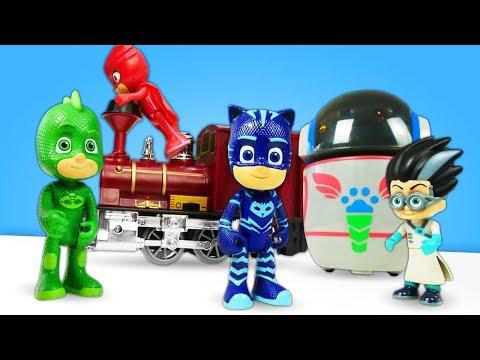 Сборник сказок для детей. Герои в масках - приключения супер героев. Видео с игрушками
