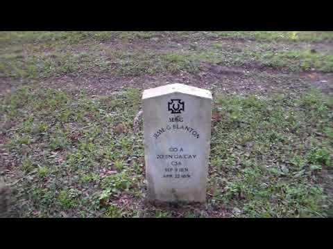 Mount Zion Cemetery & Confederate Soldier Memorial.