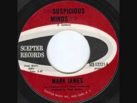 MARK JAMES   Suspicious Minds