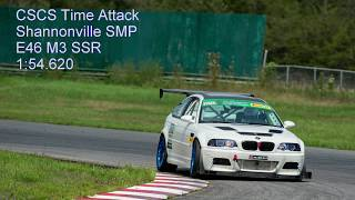 CSCS Racing at SMP Shannonville Supercharged E46 M3 Time Attack