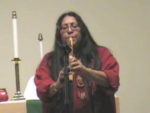 "Mary Youngblood - Native American Flute ""Amazing Grace"""