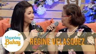 Magandang Buhay: Regine Velasquez-Alcasid's mother makes a funny promise to her