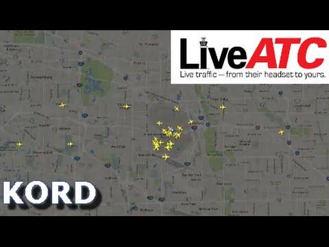 Live ATC At KORD | Very Crowded Airspace After Delays