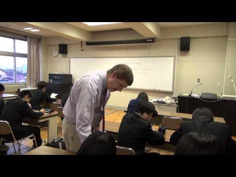 Sample OUC English Conversation Classes at Takikawa Nishi High School #1