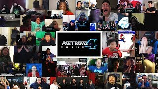 Live Reaction to Metroid Prime 4 teaser for Nintendo Switch (40+ Youtubers Synchronized Compilation)