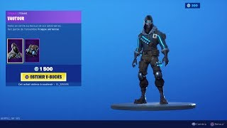 NEW SKIN NEW FORTNITE BOUTIQUE of September 01 (TODAY'S BOUTIQUE)!