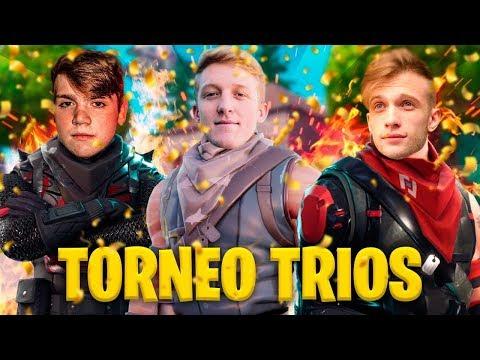 🔴 TORNEO TRIOS FINAL Fortnite World Cup [EU,BR,NA] - !cofre !miembro !codigo - StarK