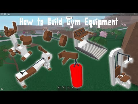 Lumber tycoon 2 | How to Build Gym Equipment