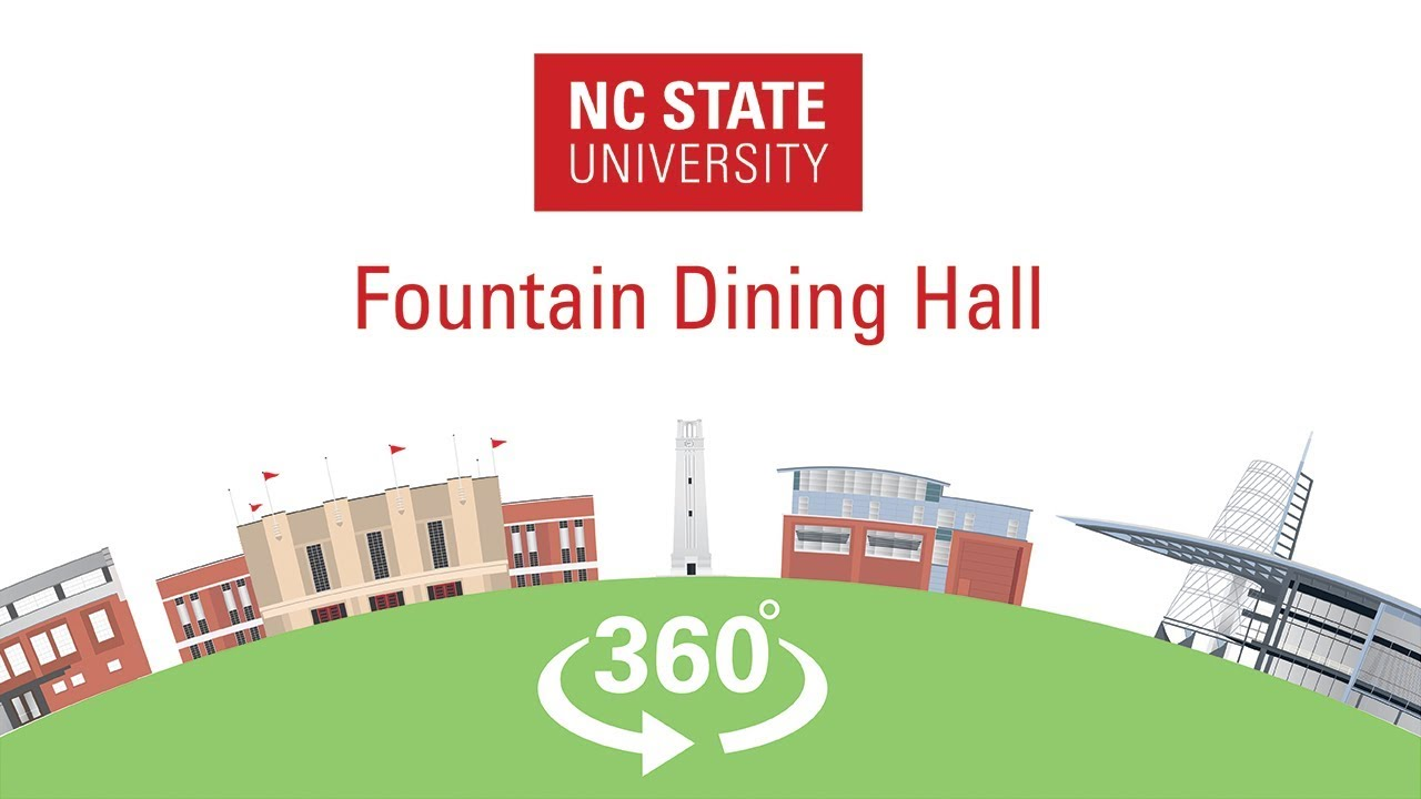 NC State 360 - Fountain Dining Hall - YouTube