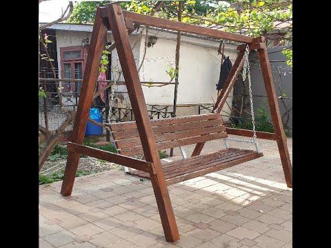 Download Cum să îți faci un Balansoar Legăn din lemn în 4 minute