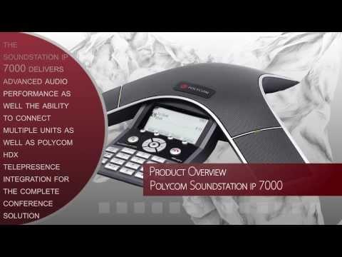 Polycom SoundStation IP 7000 Product Overview