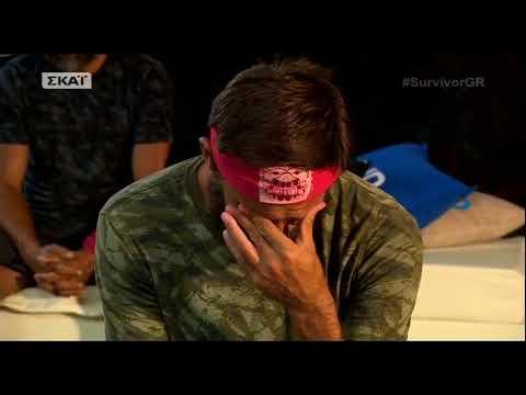Entertv:Έβαλε τα κλάματα ο Μιχάλης Μουρούτσος διαβάζοντας το μήνυμα της Λάουρα Νάργες