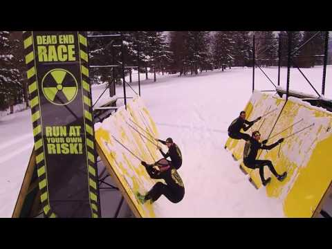 DEAD END RACE SUBZERO: WINTER COURSE TEST CREW  Cliffhanger