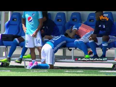 Millonarios 1 - 0 La Equidad | Fecha 7 Liga Aguila 2017 I  Win Sports