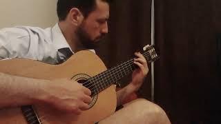 Alex Cuba, Silvana Estrada - Dividido (Cover solo guitarra)