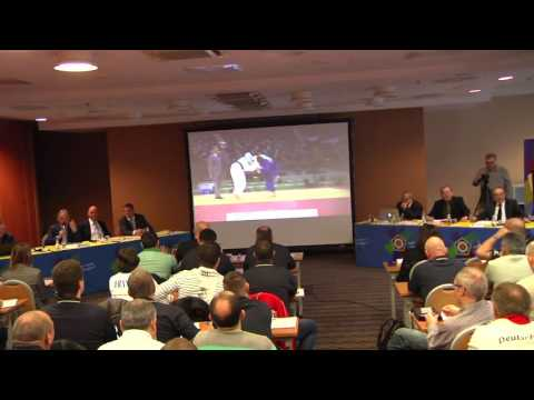 EJU Refereeing and Coaching Seminar16.04.16 part I 9.30 Wroclaw, Poland