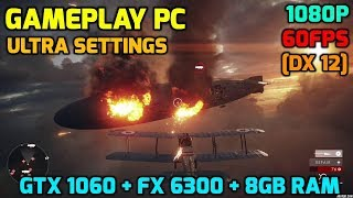 Battlefield 1 Gameplay PC Max Settings 1080p 60FPS