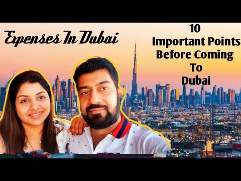 Monthly Expenses In Dubai || Minimum Salary To Survive In Dubai || 10 Points To Keep In Mind