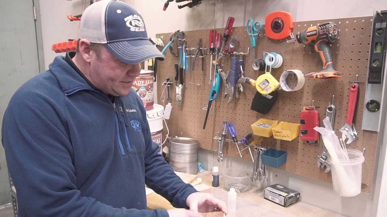 how to apply ready seal stain and sealer - ryan mcclain