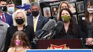Burn Pits Widow Tells Jon Stewart Her Tale