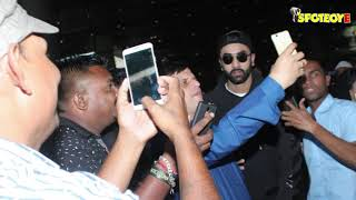 SPOTTED: Ranbir Kapoor Lands at Mumbai Airport with a Mystery Girl | SpotboyE