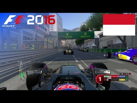 F1 2016 - 100% Race at Circuit de Monaco in Button's McLaren Honda