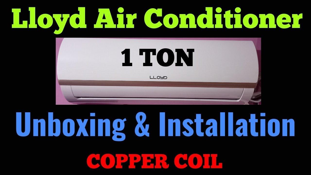Lloyd ac ls13a3af unboxing and installation copper coil youtube lloyd ac ls13a3af unboxing and installation copper coil asfbconference2016 Images