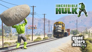 HULK MOD In GTA 5 Funny Moment - GTA V Gameplay