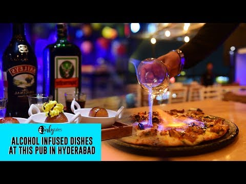 Amnesia In Hyderabad Is Serving Alcohol Infused Savoury & Sweet Dishes | Curly Tales