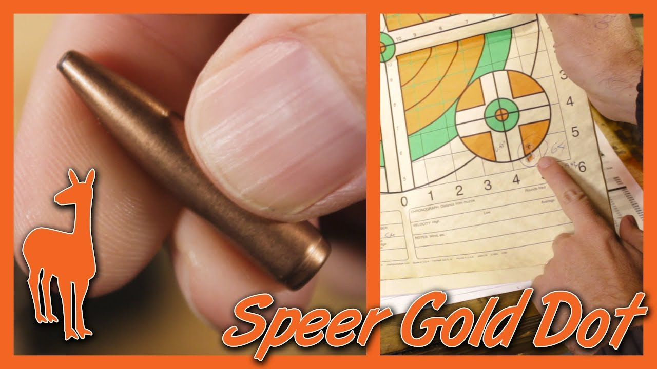 NEW Speer Gold Dot Rifle Projectiles for 6 5 Creedmoor: Bonded Long Range  Projectile