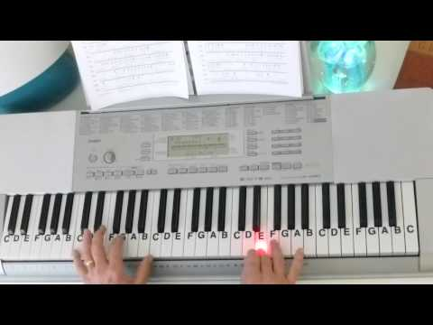 How To Play ~ Little Drummer Boy ~ Christmas Song ~ LetterNotePlayer ©