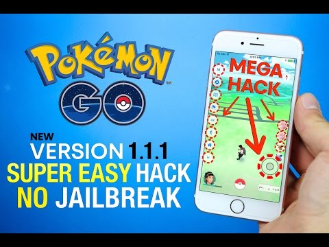 Pokemon GO 1.1.1 Hack NO Jailbreak! Map Hack, Tap To Walk & More!