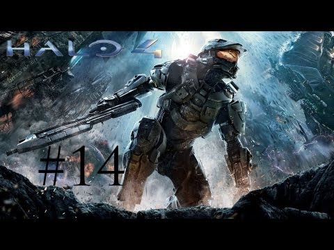 CORTANA IS HIGH AS A KITE - Halo 4 Gameplay/Walkthrough Part 14