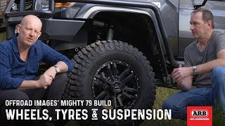 Wheels, Tyres & Suspension | Offroad Images' Mighty 79 Build