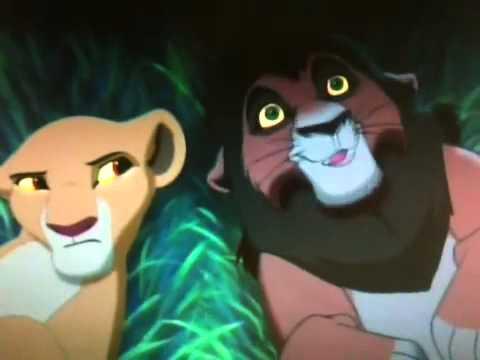 lion king 2 kovu and kiara cousins