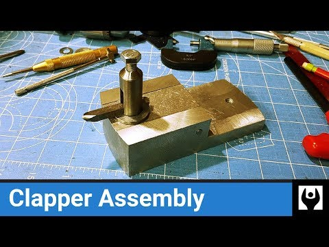 Clapper Assembly for Gingery Shaper