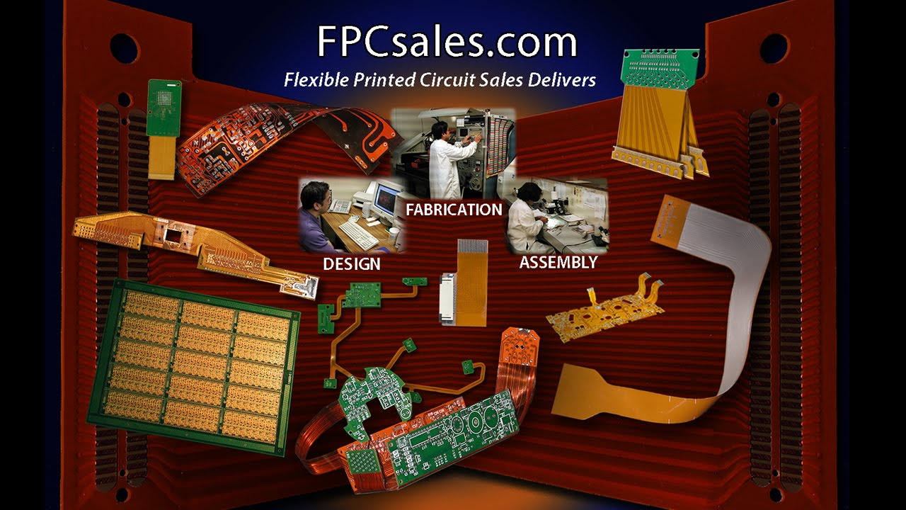 Flexible Circuit Manufacturer Youtube Electronic For Pcb Designassembly