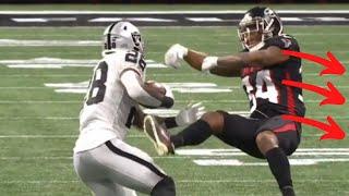 "Josh Jacobs ""TRUCKS"" Falcons Defender (BEAST MODE)"