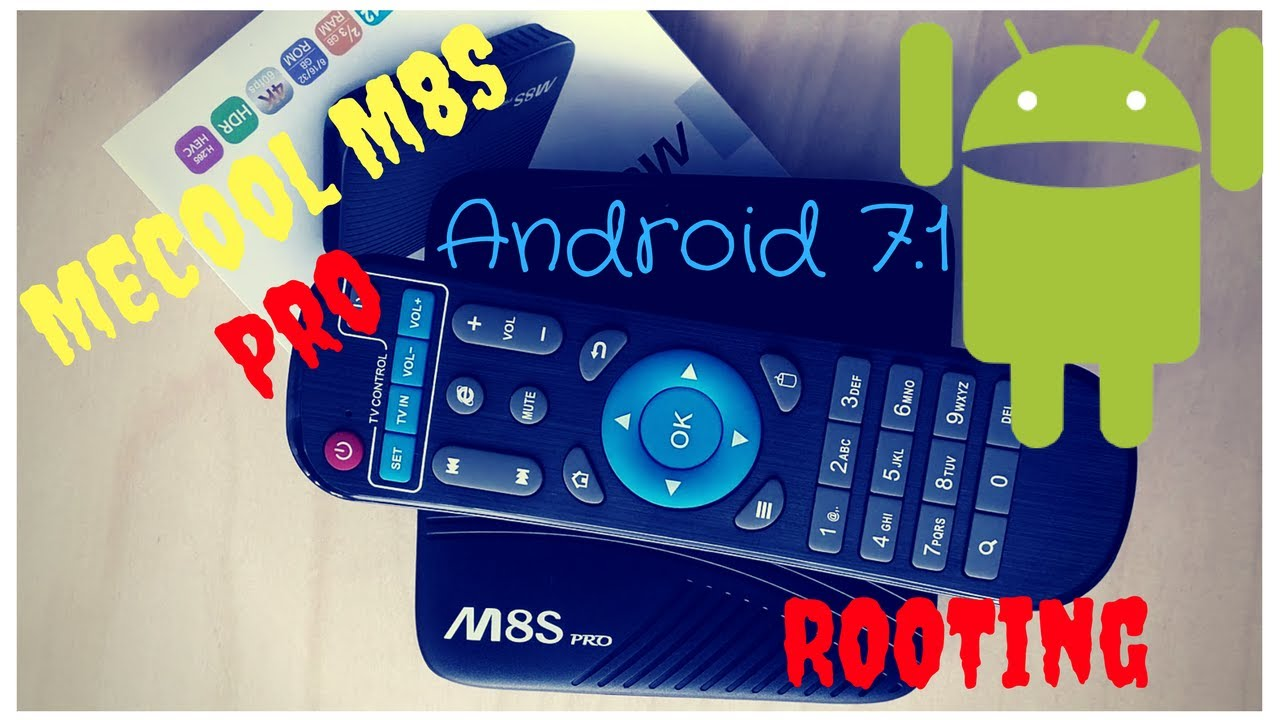 Rooting the MECOOL M8S Pro - Amlogic S912 + 3GB RAM running Android Nougat