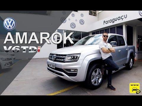 VW Amarok V6 3.0 Turbo Diesel em detalhes