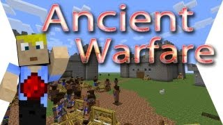 ANCIENT WARFARE - Minecraft Mod