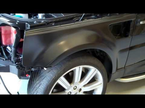 How To Fit 2010 Front Wings To Range Rover Sport 2005-2009 Fenders Conversion