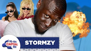 Stormzy Rates Ariana Grande, Adele And Dolly Parton's Raps 🎤 | FULL INTERVIEW | Capital