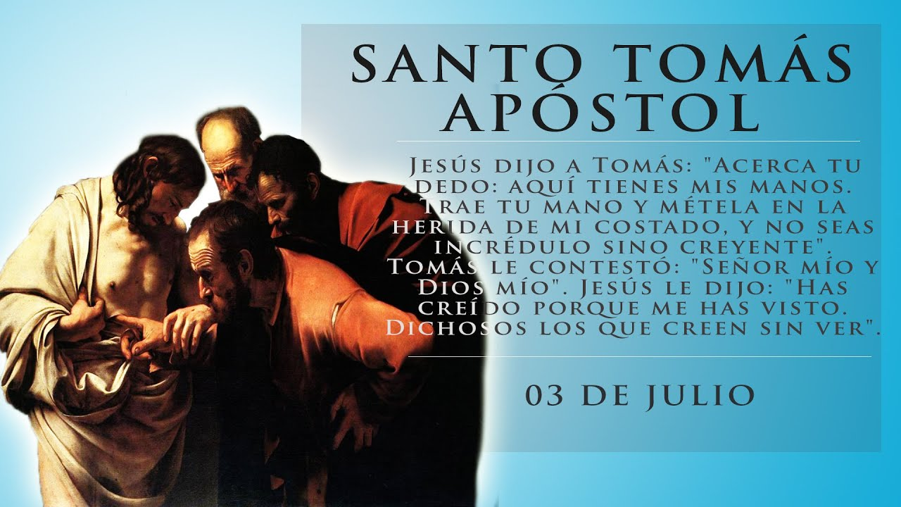 Resultado de imagen para santo tomas apostol