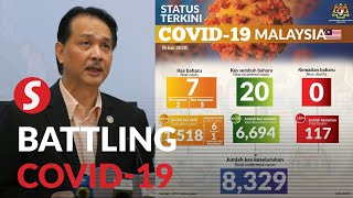Covid-19: Malaysia records seven new cases, lowest in three months