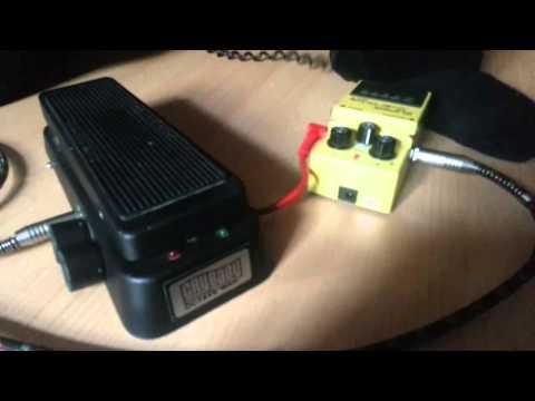Dunlop GCB-950 CryBaby Octave Wah Demo