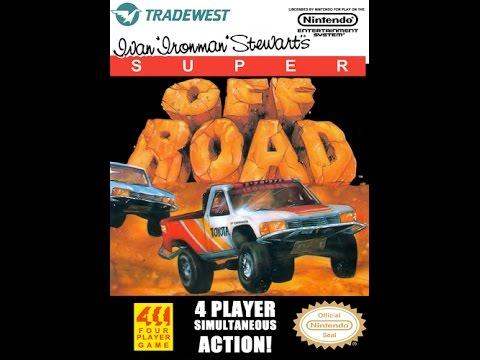 "Ivan ""Ironman"" Stewart's Super Off Road - Nintendo NES Longplay (Full Game) [038]"