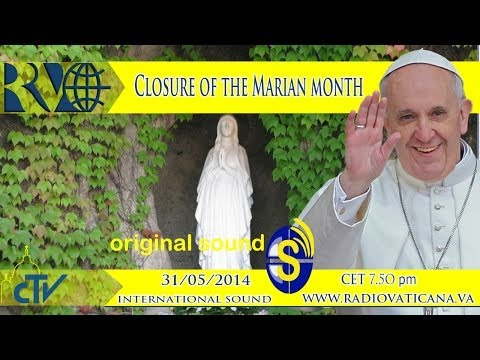 Closure of the Marian month